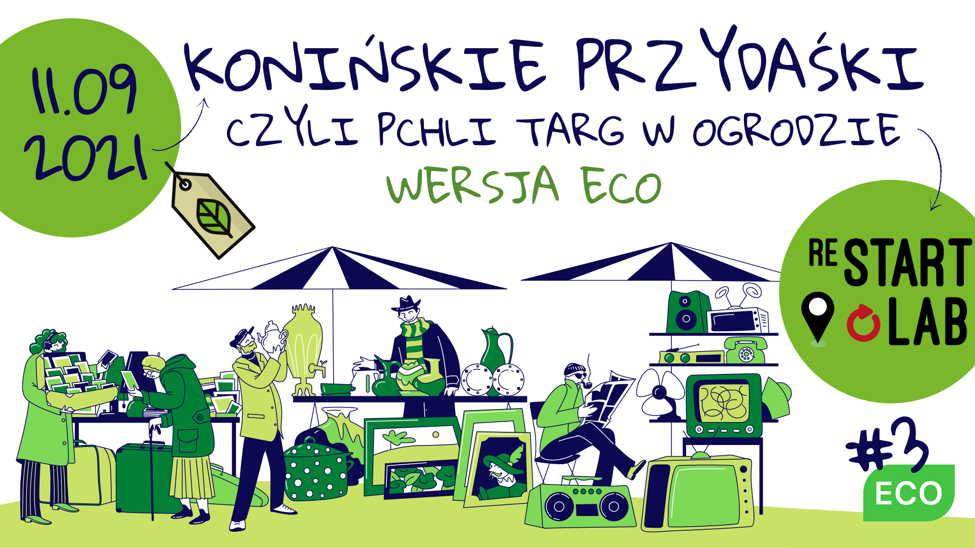 """""""Konińskie Przydaśki - pchli targ w ogrodzie wersja eco"""""""