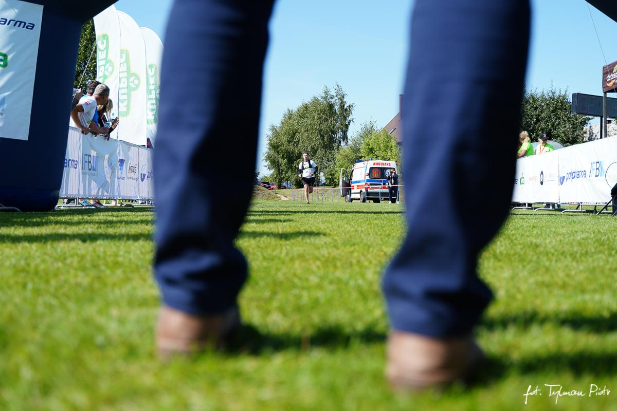 Bardzo pozytywna impreza w Brzeźnie Półmaraton Złota Góra. Zdjęcia Piotr Tylman