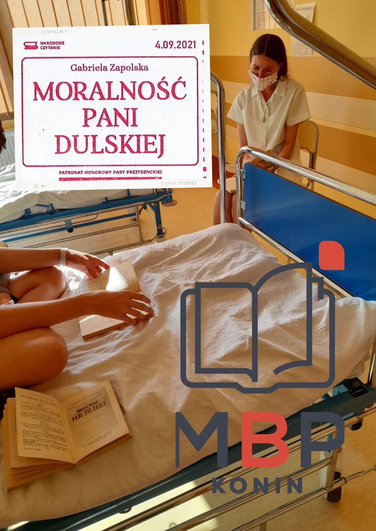 Pani Dulska w szpitalu