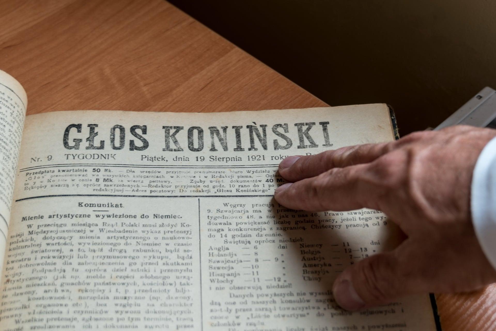Jak nam miło, że czytacie Głos Koniński :-)