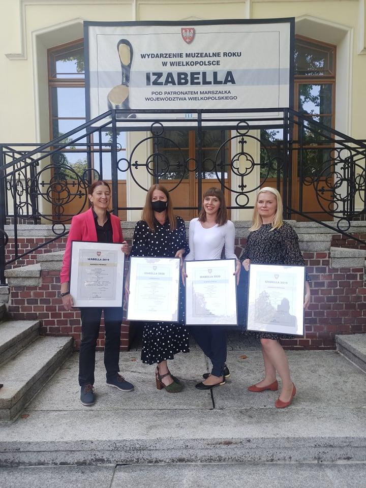 """wręczenie nagród w Konkursie """"IZABELLA 2019"""" i """"IZABELLA 2020""""!"""