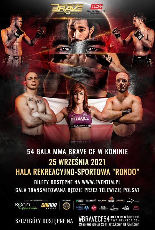 Gala MMA BRAVE Combat Federation