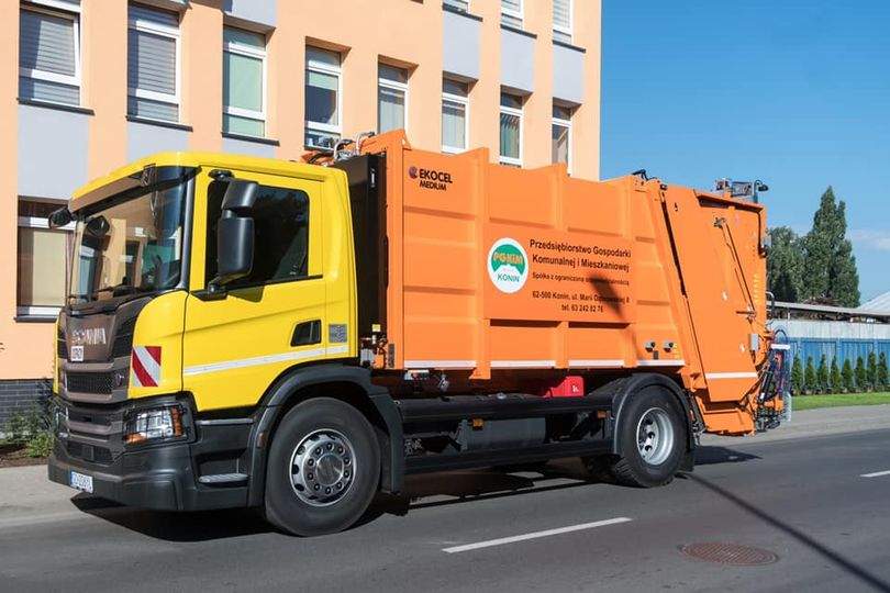 Dziś do pracy w mieście Konin wyruszyła najnowsza śmieciarka PGKiM Sp. z o.o.