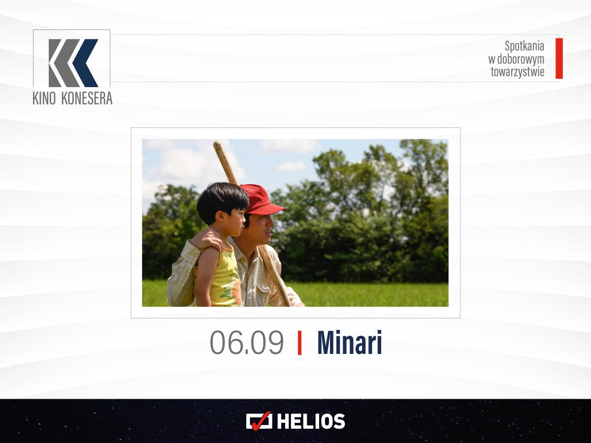"""W najbliższy poniedziałek 6 wrześniana ekranie @KinoHeliosPolska """"MINARI"""""""