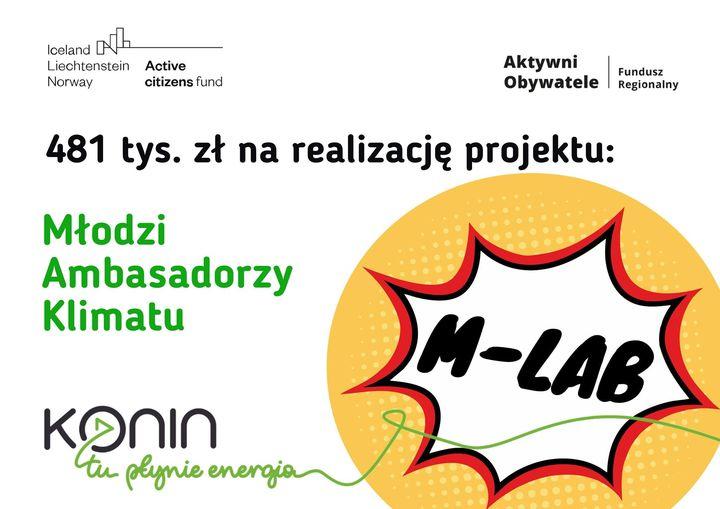 M-LAB Konin. Młodzież dla klimatu