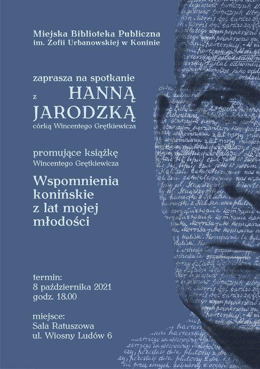 """""""Wspomnienia konińskie z lat mojej młodości"""" Wincentego Grętkiewicza."""