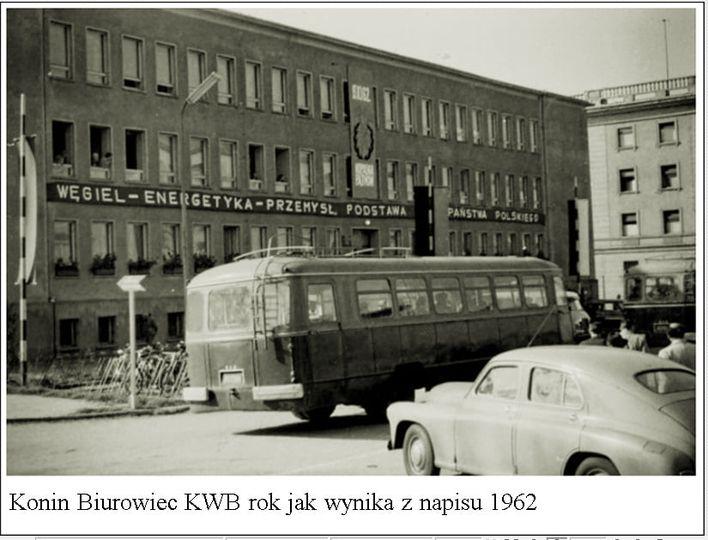 Konin Biurowiec KWB, kto wie gdzie był ?