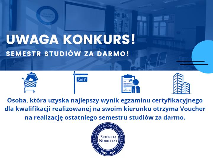 Konkurs dla studentów WSKM