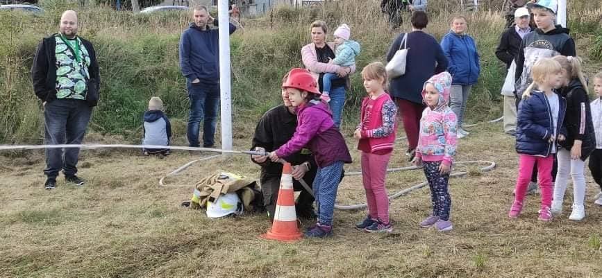 OSP Konin Chorzeń zorganizowało spotkanie integracyjne dla dzieci