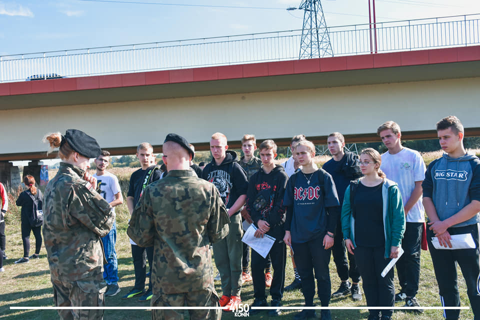 """Nowi rekruci w Jednostce Strzeleckiej 4150 Konin ZS """"Strzelec"""""""