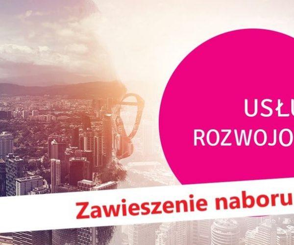 """Nabór na """"Usługi rozwojowe dla subregionu konińskiego"""" zawieszony"""
