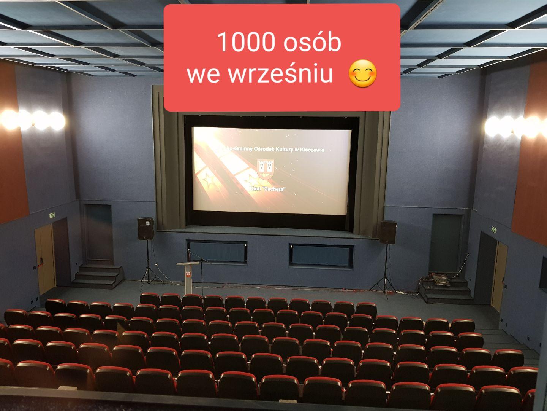 Kino Zachęta przypadło do gustu Mieszkańcom Gminy i Miasta Kleczew