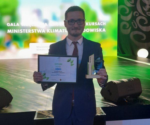 3 miejsce za Ekologiczny Konin
