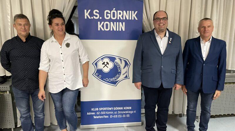Sprawdzeni Ludzie na trudne czasy. Górnik Konin wybrał prezesa i zarząd.