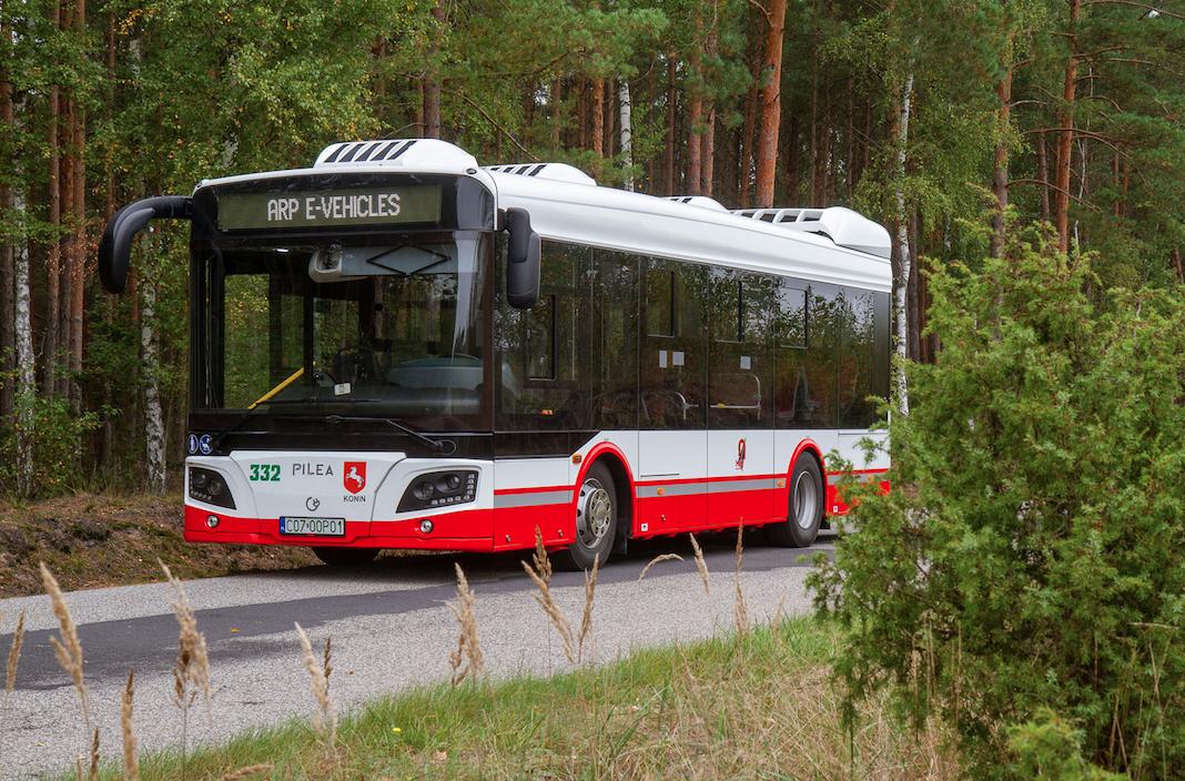Już wkrótce pierwszy polski autobus elektryczny PILEA wyjedzie na ulice Konina