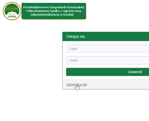 Skorzystaj z e-PORTALu PGKiM Sp. z o.o. w Konin